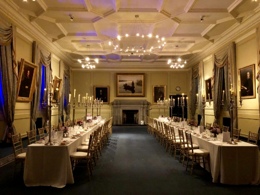Lower College Hall banquet