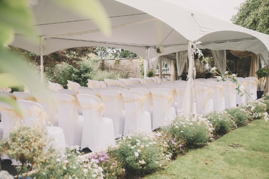 Beautiful Secret Garden, Ceremony Marquee