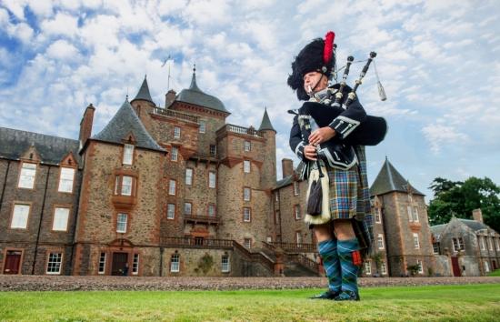 Thirlestane Castle, Lauder, Scottish Borders