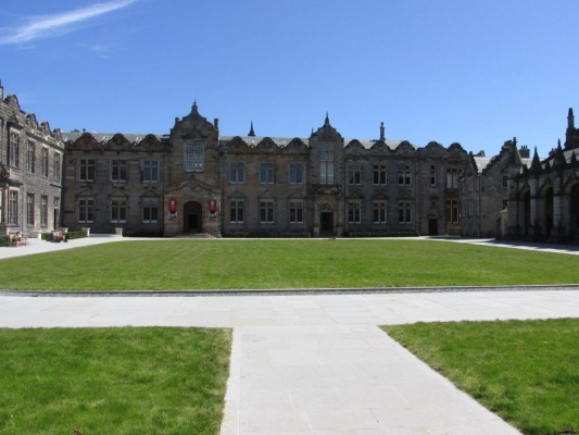 Lower And Upper College Halls At The University Of St Andrews