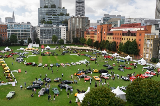 London Concours on the Artillery Garden at The HAC