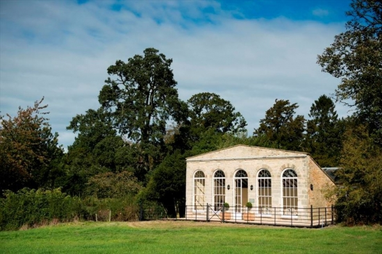 The exterior of the Orangery.