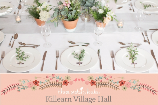3 Sisters Bake Weddings At Killearn Village Hall
