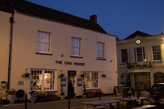 The Oakhouse Hotel, Axbridge, Somerset