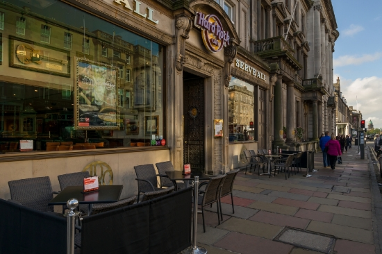 Hard Rock Cafe Edinburgh