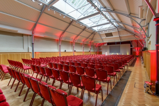 Prince Consort Rooms Theatre styler conference at The HAC