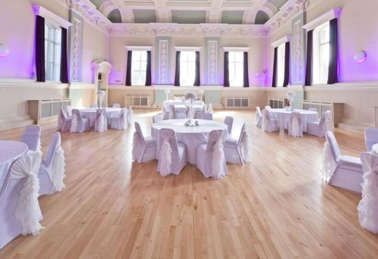 The Ballroom At Accrington Town Hall