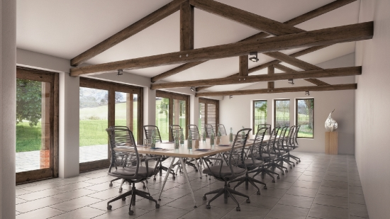 The Byre - meeting room