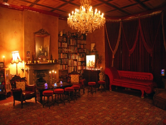 The upstairs Drawing Room