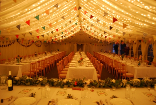 Village Hall Style Evening Reception