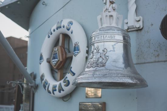 HMS Belfast Bell