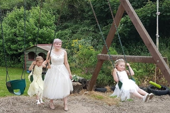 Wedding family fun