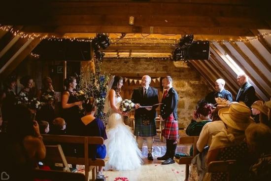 The Loft wedding ceremony