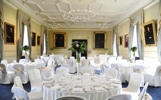 Lower College Hall wedding breakfast