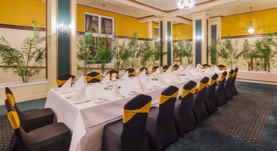 Atrium Banquet Setup