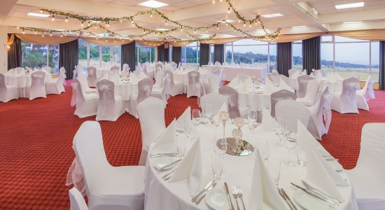 Tongariro Room - Banquet Setup