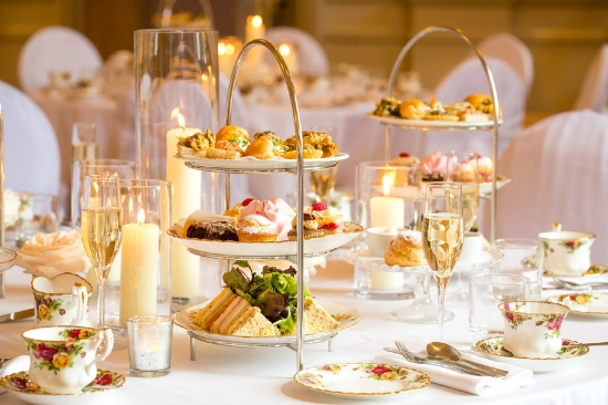 High Tea as Wedding Breakfast