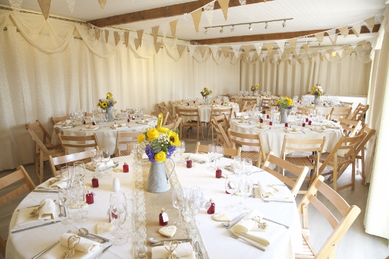 Courtyard room for your wedding breakfast