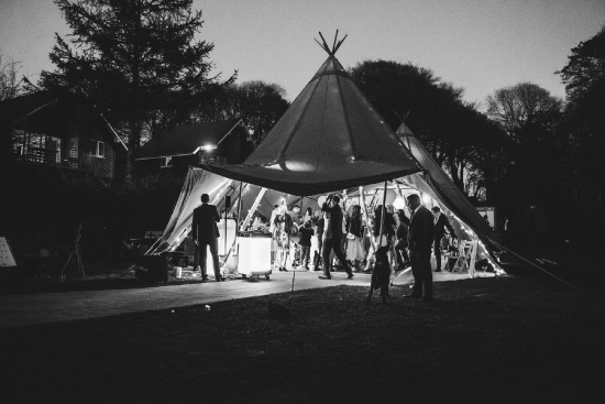 Ideal site for a Tipi or Marquee of your choice