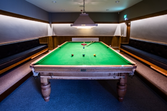 The Turner Suite Snooker Table