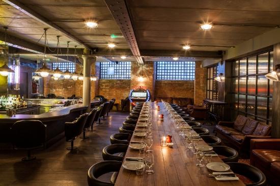 Mark's Bar feast tables