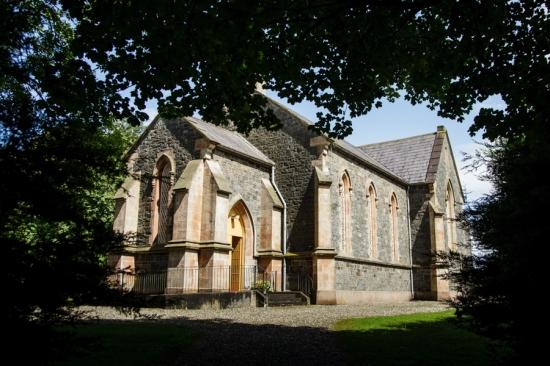 All Saints Church at Lissanoure Castle