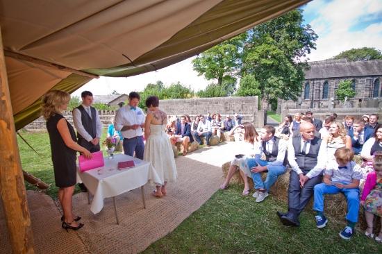 Tepee Wedding