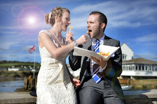 a chippy wedding