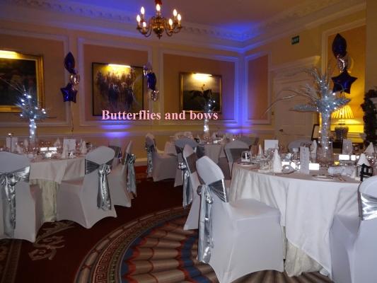 Party venue decorations